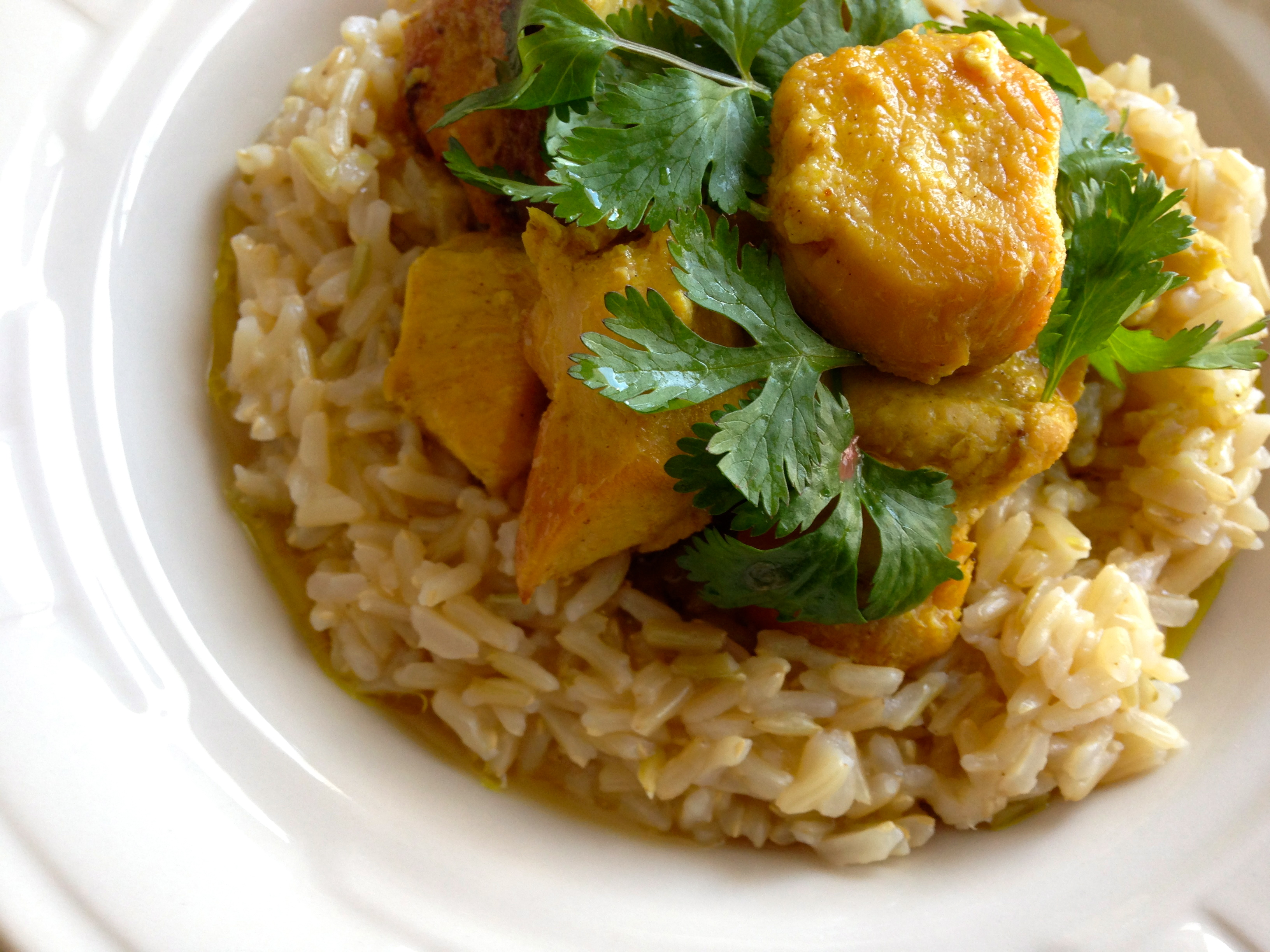 Senegalese Chicken Curry