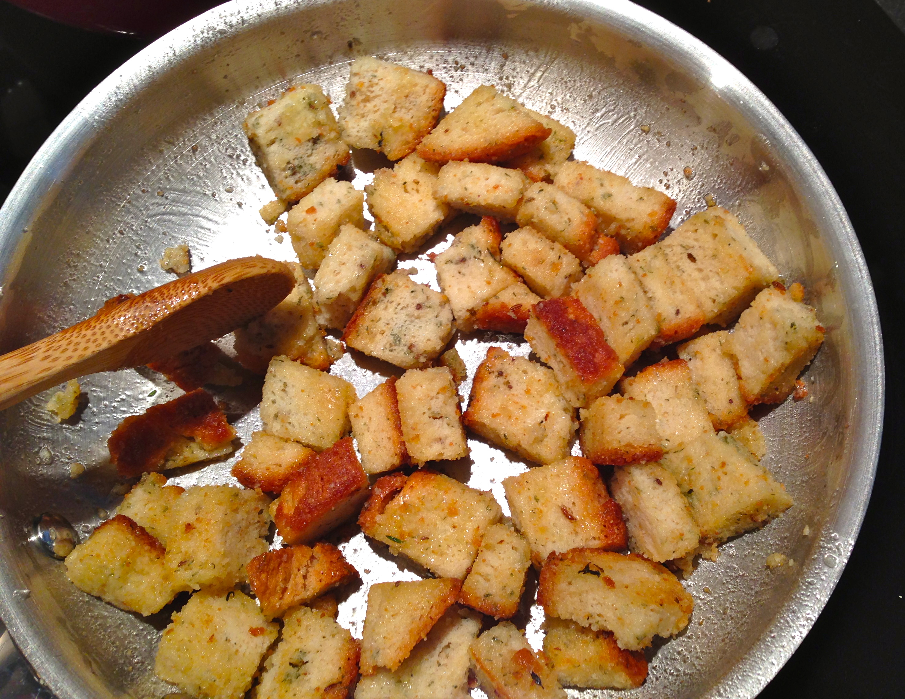 Herbed Croutons