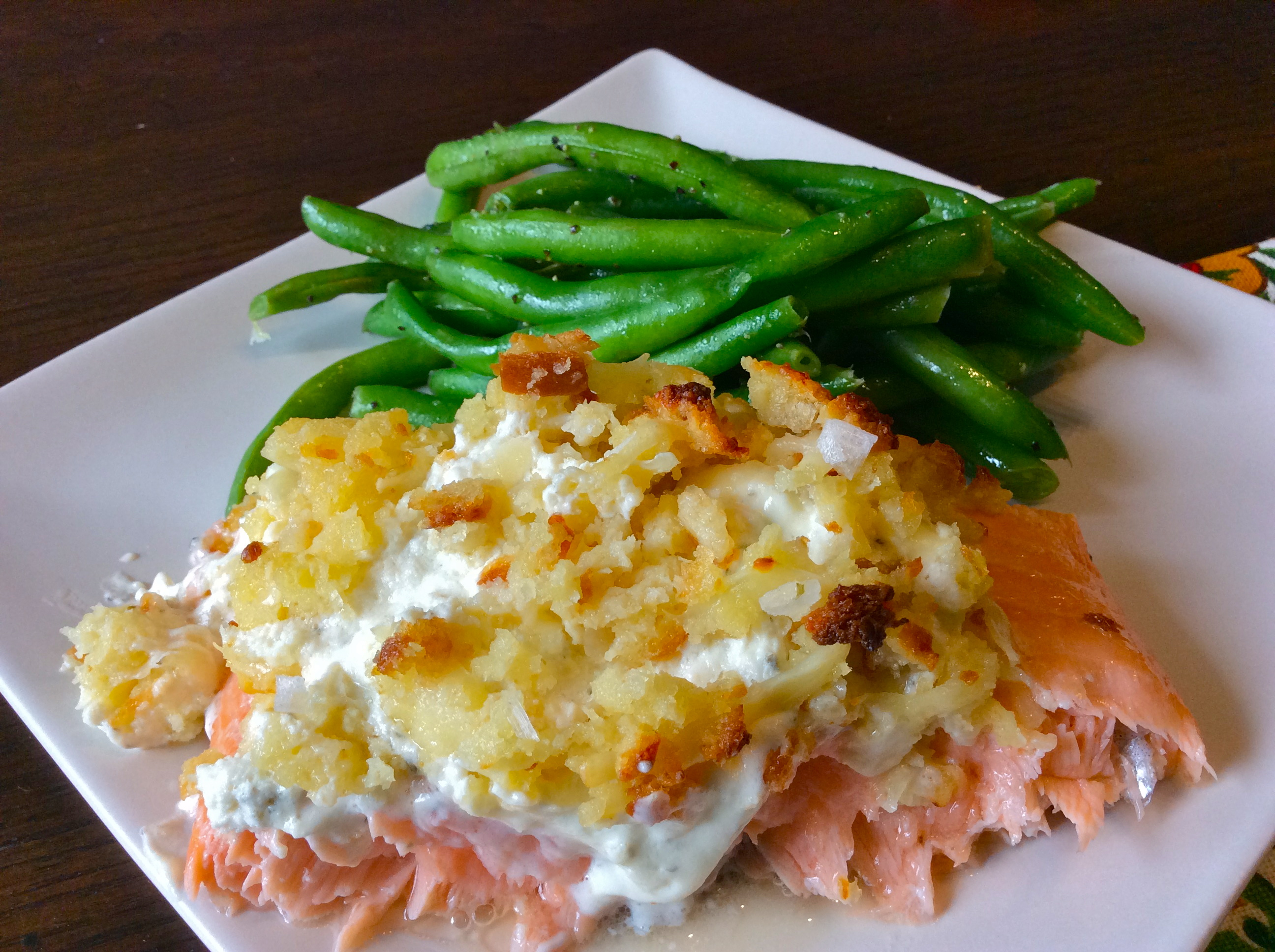 Cheese Stuffed Salmon