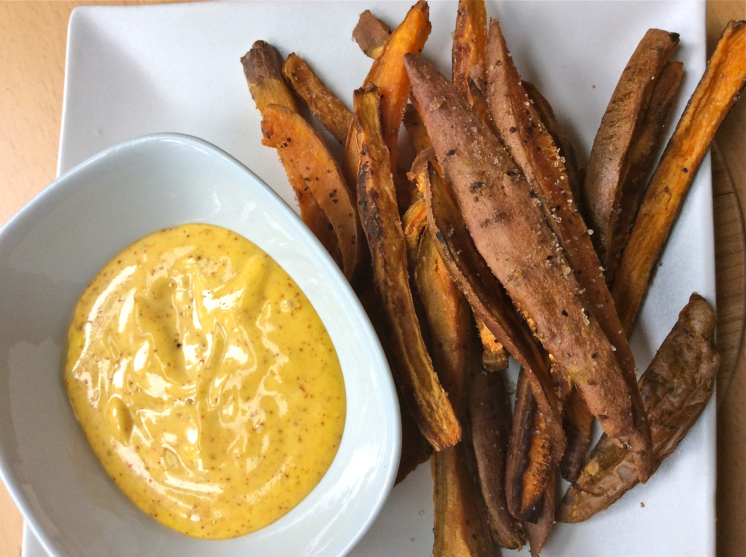 Sweet Potato Fries and Spicy Mayo