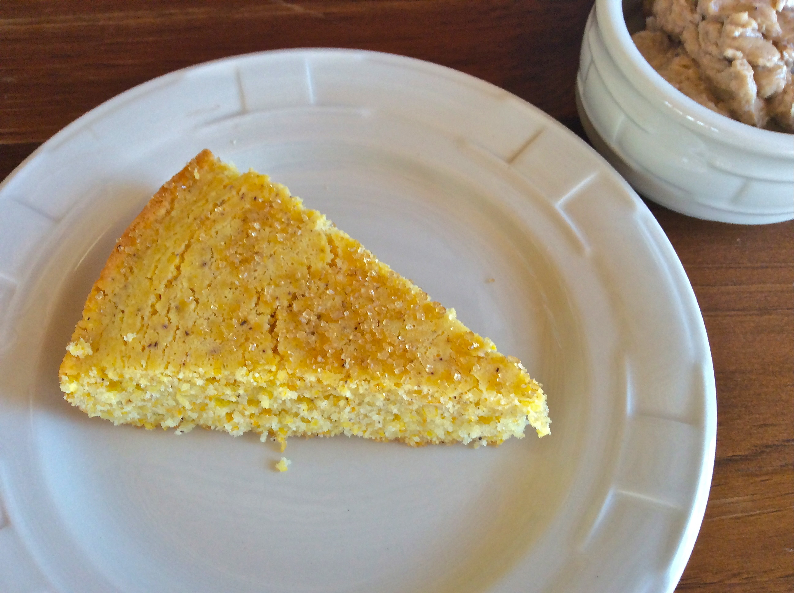 Gluten Free Cornbread with Maple Butter