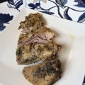 Pork Shoulder Roast with Garlic and Herb Aioli for Pressure Cooker