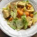 Chicken with Butternut Squash and Bok Choy