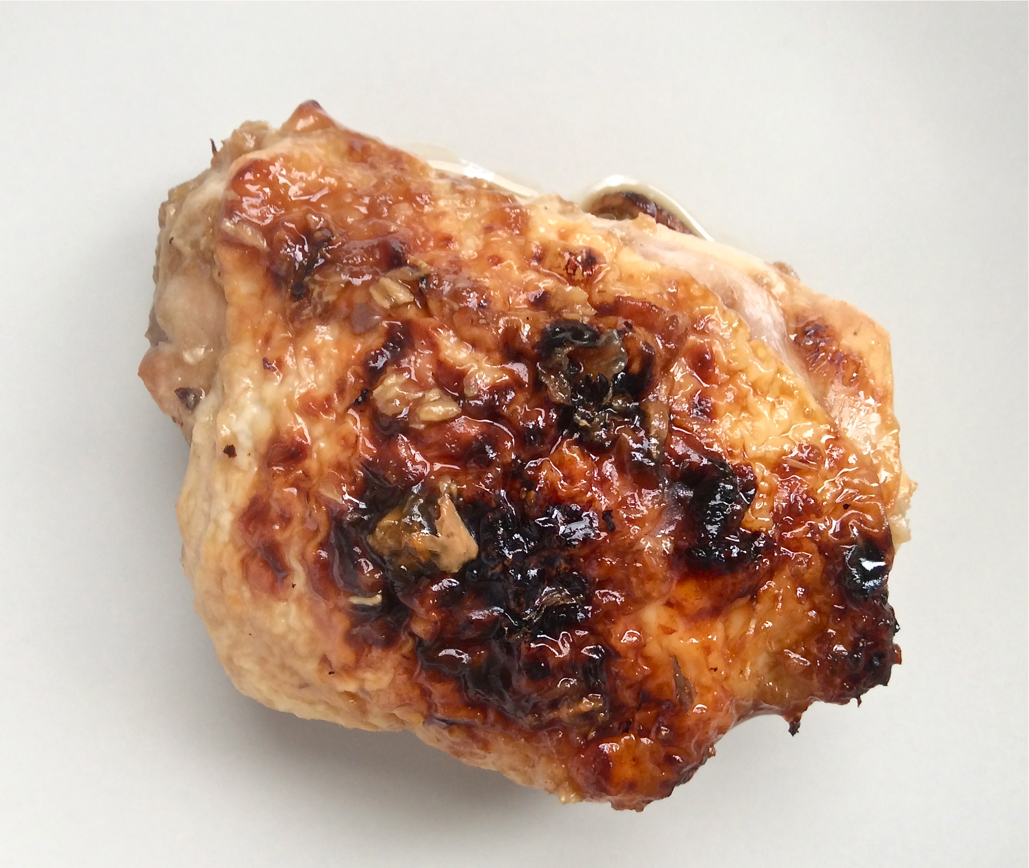 Easy Honey Glazed Chicken Thighs