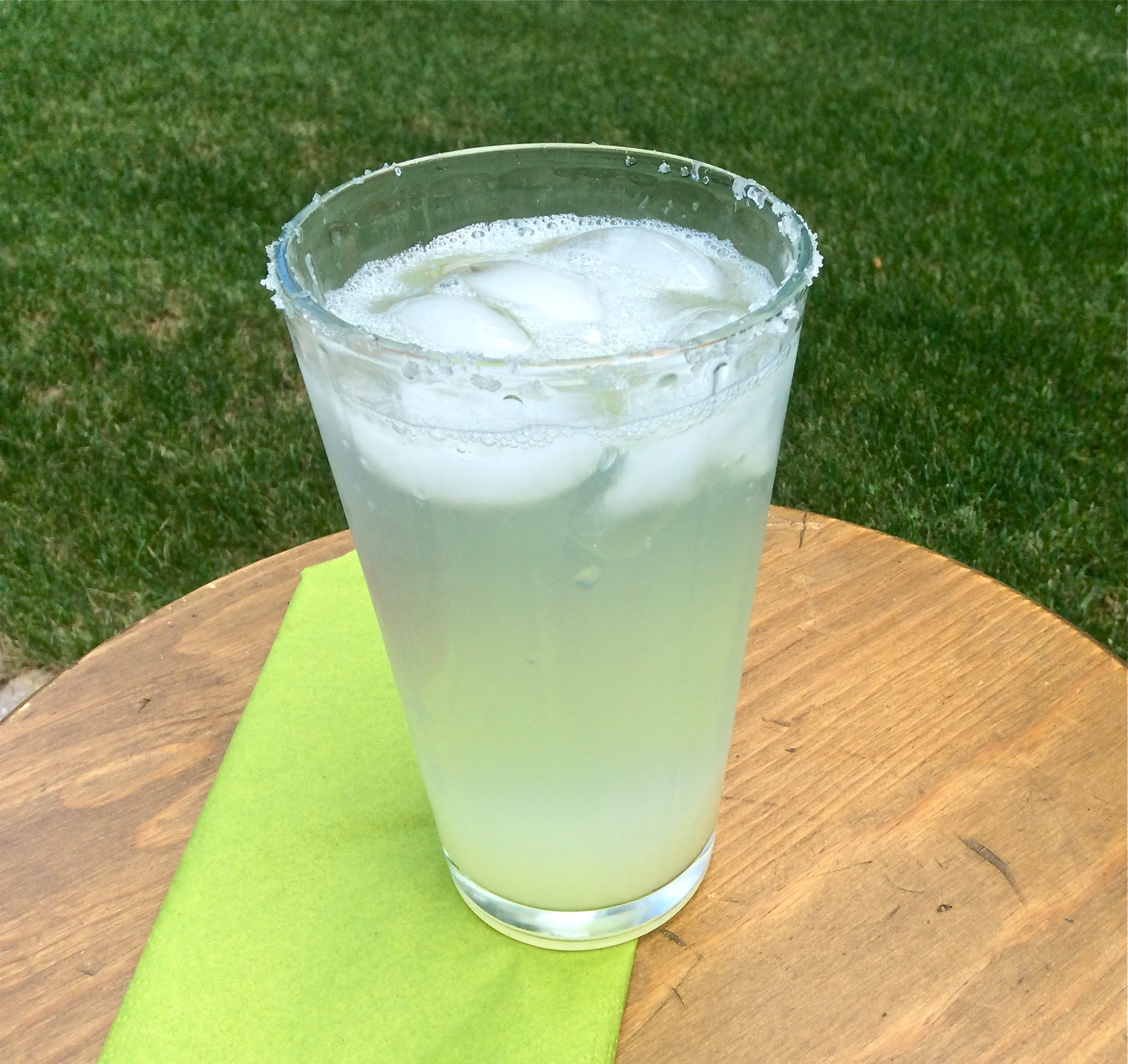Tequila Lime Spritzers